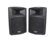 "Podium Pro PP1503A 1 Pair 1800 Watts Band DJ PA Karaoke Active Powered 15"" Loud Speakers w/ RCA Connections"