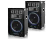 Technical Pro VRTX12 Passive DJ Speakers 2000 Watts New 2VRTX12