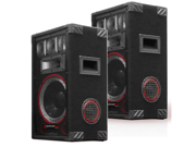 2 Technical Pro VMPR8 Passive 6 Way DJ Speakers 1400 Watts New