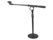 Podium Pro Tabletop Boom Microphone Stand Mic EZ Clip Adjustable DJ Drum Stand MS4MC2