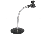 Podium Pro Tabletop Microphone Stand and Mic Clamp Clip Gooseneck DJ Podcast Stand MS3MC1