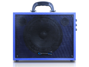 Technical Pro WASP300D Powered Speaker Rechargeable Battery w/ Mic and USB 300W