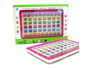 Ypad English Computer Learning Teaching Screen Tablet Toy Fun Gift for Kids Pink