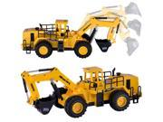 6 CH RC Remote Control Construction Excavator Truck Toy Car Gift for Boys Kids Children