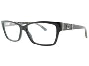 Gucci GG 3559 L73 Black W/ Crystals Eyeglasses 53mm