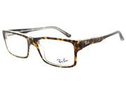 Ray Ban RB RX 5245 Havana Crystal 5082 Unisex Eyeglasses 52mm