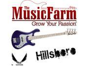 Dean Hillsboro J Blue Active Electric Bass Guitar