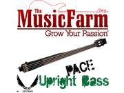 Dean Upright Pace Bass Upright Electric Bass with Case and Stand - Classic Black