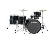 Ludwig Accent Power Plus Drum Set with Hardware and Cymbals - Black Sparkle