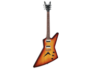Dean Zx Explorer Trans Brazilia Electric Guitar