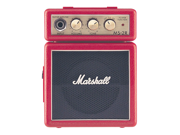 Marshall MS2 Mini Guitar Amplifier Half Stack Red