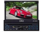 Absolute AVH-4000T 7-Inch In-Dash Touch Screen DVD Multimedia Player with Built-in Analog TV Tuner SD card Slot/USB