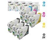 LD Remanufactured Replacement for Epson T079 Set of 6 High Yield Ink Cartridges: 3 T079120 Black, 1 T079220 Cyan, 1 T079320 Magenta, 1 T079420 Yellow for the Artisan 1430, Stylus Photo 1400 Printers
