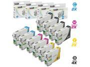 LD Remanufactured Replacement for Epson T079 Set of 10 HY Ink Cartridges: 4 T079120 Black, 2 T079220 Cyan, 2 T079320 Magenta, and 2 T079420 Yellow for the Artisan 1430 & Stylus Photo 1400 Printers