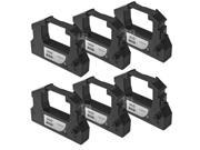 LD © Compatible 6 Pack Black POS Ribbon Cartridges for Epson ERC-28B