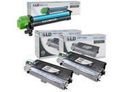 LD © Compatible Replacements for Sharp AL Printers 3 Pack Includes: 2 AL100TD Black Laser Toner Cartridges, and 1 AL-100DR Laser Drum