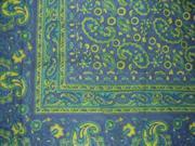Jaipur Paisley Tapestry Bedspread Coverlet Versatile