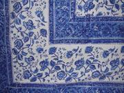 Rajasthan Block Print Tapestry Bedspread Coverlet