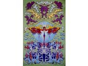 Psychedelic Dragonfly Tapestry Wall Hang 90 x 60
