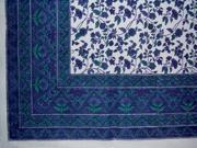 """Fleur De Lis Tablecloth 60"""" x 60"""" Square"""