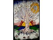 Twilight Tree of Life Tapestry Wall Hang Unique Home Decor 90 x 60