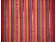 """Colorful Cotton Ribbed Bedspread or Coverlet Sripes 102"""" x 96"""""""