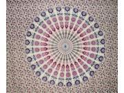 Sanganeer Indian Tapestry or Bedspread Versatile Home Decor