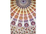 Sanganeer Tapestry Spread or Wall Hang Mandala 88 x 58