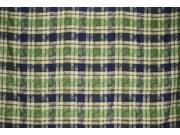 "Plaid Cotton Jacquard Tablecoth 90"" x 60"" Grapevine"