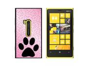 Paw Print of Awesomeness Pink - Snap On Hard Protective Case for Nokia Lumia 920