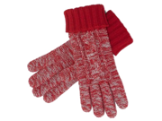 Liz Claiborne Womens Red Wool Touch Screen Texting Gloves for Ipod I-Phone