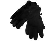 Tek Gear Mens Black Microfleece Winter Snow Gloves Waterproof & Windproof
