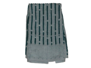 Apt.9 Teal Stripe Hand Towel Blue/Green Raised Stripes Cotton