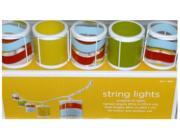 Color Lantern String Light Set In or Out Patio Lights