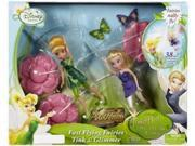 """Disney Fairies Fast Flying Fairy Tink & Glimmer with 38"""" Adjustable Zip Line"""