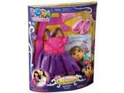 Fisher Price Dora The Explorer Birthday Fiesta Dress-Up Collection Doll Clothes