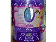 Disney Princess Fuzzy Musical Jewelry Box Decorate With Markers & Glitter