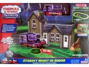 Fisher Price Thomas Trackmaster Stormy Night in Sodor Train Track Set Motorized