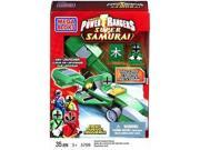Mega Bloks Power Rangers Super Samirai Green Rocket Race Car Building Set 5769