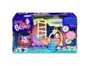 Littlest Pet Shop Basic Playset - Playground with Parrot Bird