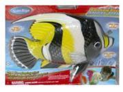 SwimWays Rainbow Reef Black & Yellow Angel Fish Swimming Pool Toy
