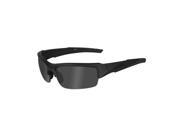 Wiley X Valor Changeable Polarized Smoke Grey/Matte Black Frame Sunglasses