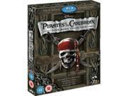 Disney's Pirates of the Caribbean 1-4 Blu-Ray Box Set (Region A/B)