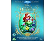 The Little Mermaid: 3-Movie Collection Blu-ray [Region-Free]