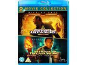 National Treasure 1 & 2 Double Pack Blu-ray [Region-Free]