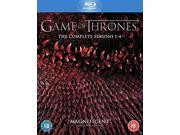 Game of Thrones: The Complete Seasons 1-4 Blu-ray [Region-Free]