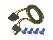 """118044 Tow Ready 4-Flat Plug Loop, 48"""" Long (Includes 4 Wire Taps)"""
