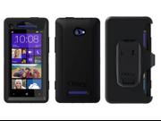 OtterBox HTC Windows Phone 8X Defender Series Black Case 77-24074