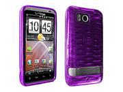 OEM Verizon High Gloss Silicone Case for HTC ThunderBolt 6400 (Purple) (Bulk Packaging)