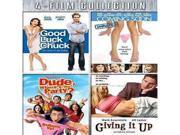 Good Luck Chuck/Coming Soon/Dude Wheres The Party/Giving It Up (Dvd) (4Disc